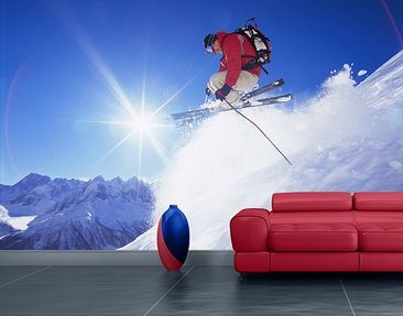Product picture Photo Wall Mural Ski-Jump