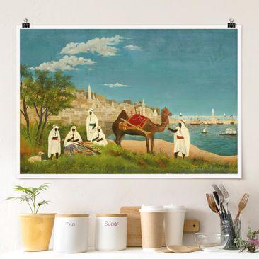 Immagine del prodotto Poster - Henri Rousseau - Paesaggio di Algeri - Orizzontale 2:3