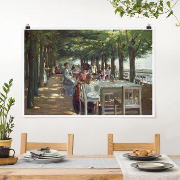 Immagine del prodotto Poster - Max Liebermann - The Terrace Restaurant Jacob - Orizzontale 2:3