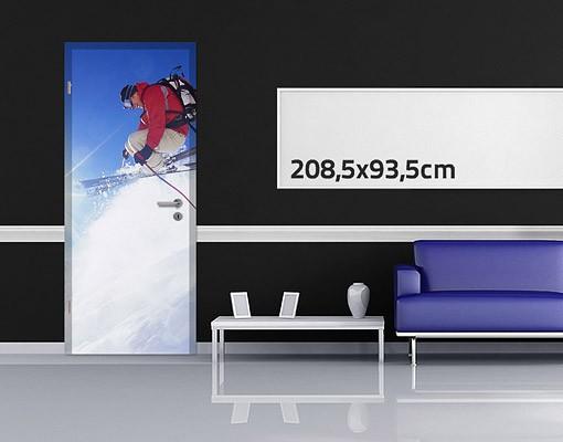 Produktfoto TürTapete Skisprung