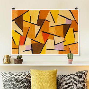 Produktfoto Poster - Paul Klee - Harmonisierter Kampf - Querformat 2-3 Material matt Artikelnummer 261073-CU