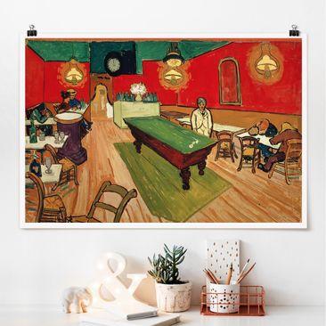 Immagine del prodotto Poster - Vincent Van Gogh - Notte Cafe ad Arles - Orizzontale 2:3