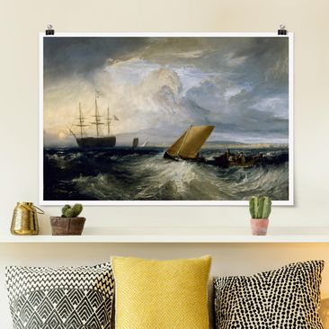 Produktfoto Poster - William Turner - Sheerness - Querformat 2-3 Material matt Artikelnummer 261104-CU