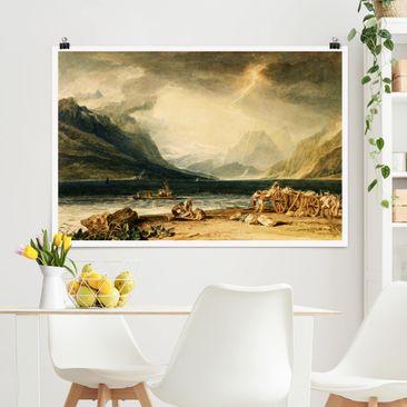 Produktfoto Poster - William Turner - Thunersee - Querformat 2-3 Material matt Artikelnummer 261107-CU