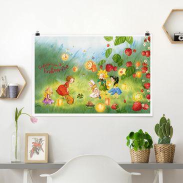 Produktfoto Poster - Erdbeerinchen Erdbeerfee - Laternen - Querformat 2-3 Material matt Artikelnummer 261129-CU