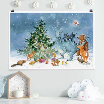 Produktfoto Poster - Das Weihnachtsfest - Querformat 2:3
