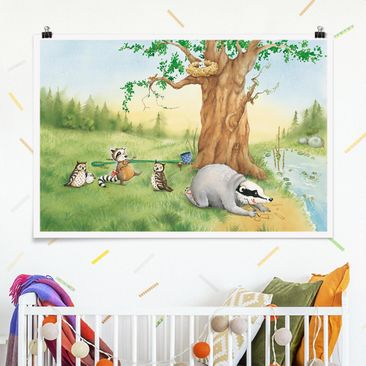 Produktfoto Poster - Sibelius plant den Fahrstuhlbau - Querformat 2:3