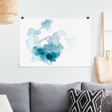 Immagine del prodotto Poster - Aquamarine foschia I - Orizzontale 2:3