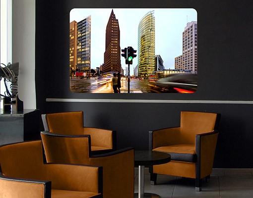 Produktfoto Selbstklebendes Wandbild Potsdamer Platz