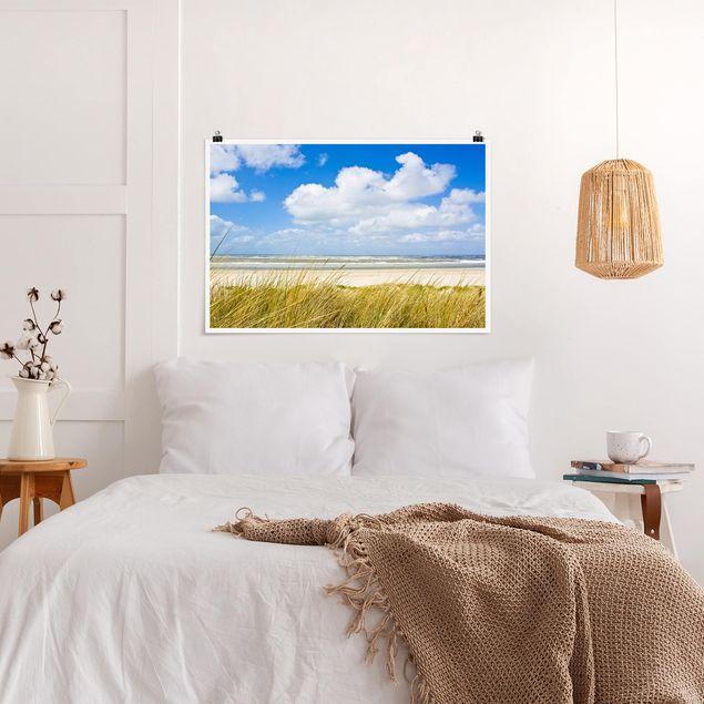Produktfoto Poster - An der Nordseeküste - Querformat 2:3