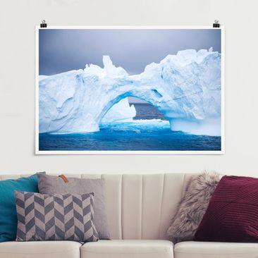 Produktfoto Poster - Antarktischer Eisberg - Querformat 2:3