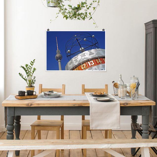 Produktfoto Poster - Berlin Alexanderplatz - Querformat 2:3