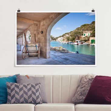 Produktfoto Poster - Cala Figuera Mallorca - Querformat 2:3