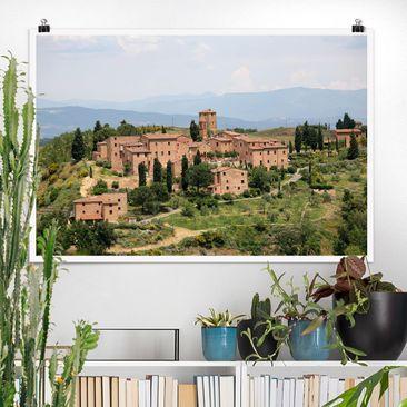 Produktfoto Poster - Charming Tuscany - Querformat 2:3