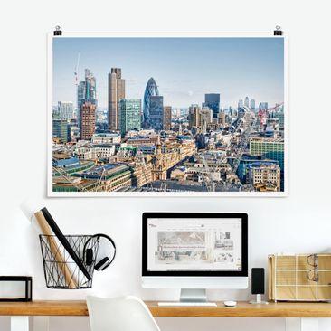 Produktfoto Poster - City of London - Querformat 2:3