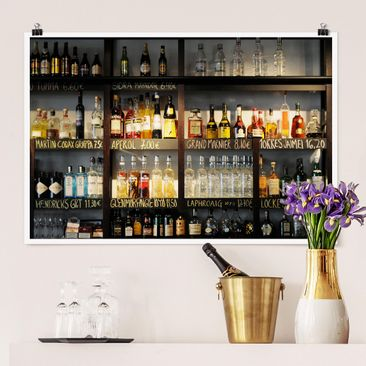 Produktfoto Poster - Drink Lovers' Bar - Querformat 2:3