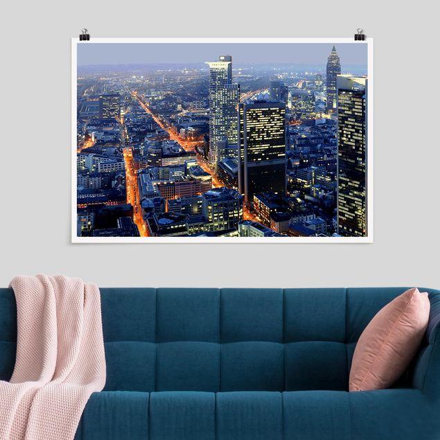 Produktfoto Poster - Frankfurt - Querformat 2:3
