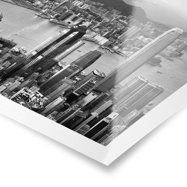 Produktfoto Poster - Skyline Nostalgia - Querformat 2:3