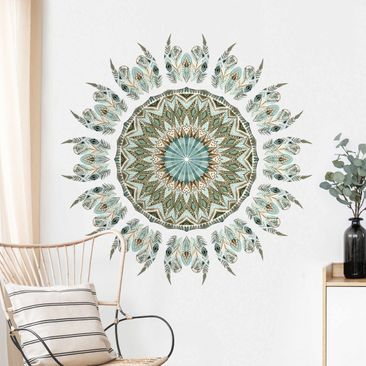 Product picture Wall Sticker - Mandala Watercolor...