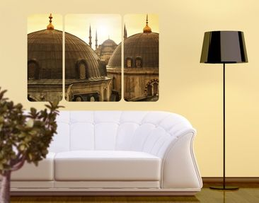 Product picture Wall Mural Over The Roofs Of Istanbul...