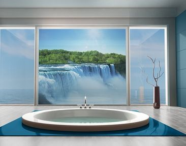 Produktfoto Window Mural Waterfall Landscape