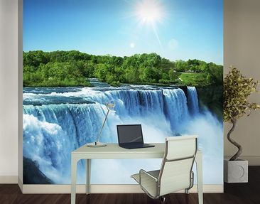 Produktfoto Photo Wall Mural Waterfall Landscape