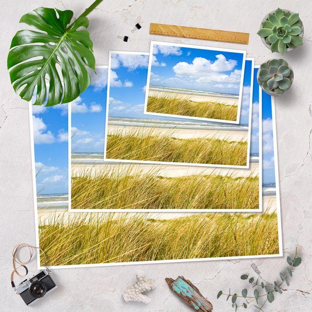 Produktfoto Poster - An der Nordseeküste - Querformat 3:4