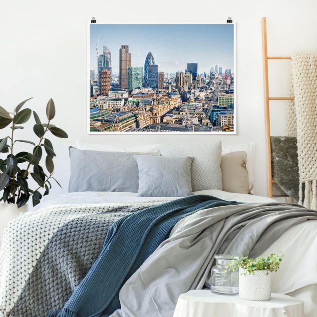 Produktfoto Poster - City of London - Querformat 3:4