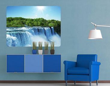 Produktfoto Wall Mural Waterfall Landscape