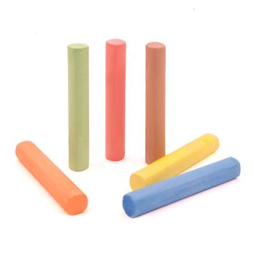 Product picture Coloured Chalk (6 pieces)