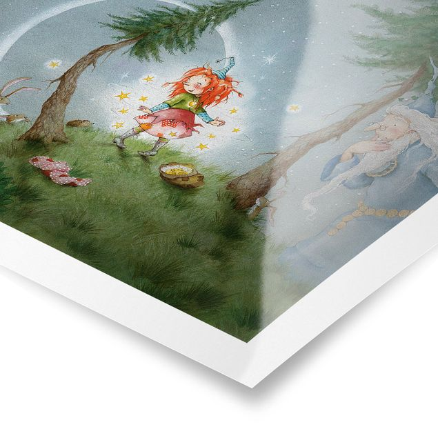 Produktfoto Poster - Frida lässt die Sterne frei - Querformat 3:4