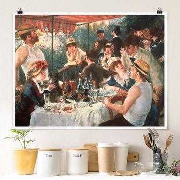 Produktfoto Poster - Auguste Renoir - Das Frühstück der Ruderer - Querformat 3:4