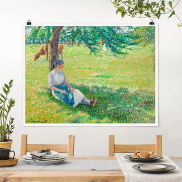 Immagine del prodotto Poster - Camille Pissarro - Kuhhirtin - Orizzontale 3:4