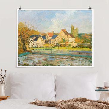 Immagine del prodotto Poster - Camille Pissarro - Campagna a Pontoise - Orizzontale 3:4
