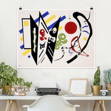 Produktfoto Poster - Wassily Kandinsky - Reciproque - Querformat 3:4