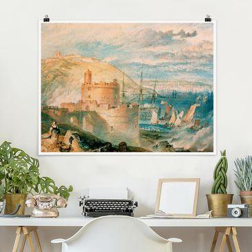 Produktfoto Poster - William Turner - Falmouth - Querformat 3:4