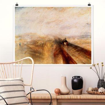 Produktfoto Poster - William Turner - Regen - Querformat 3:4