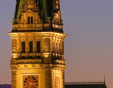 Product picture Tile Mural Hamburg Panorama
