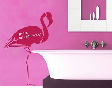 Product picture Wall Decal Chalkboard no.IS48 Flamingo