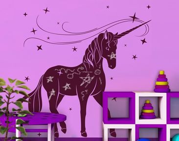 Product picture Wall Decal Board no.IS62 Unicorn