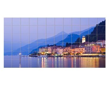 Product picture Tile Mural Bellagio on Lake Como