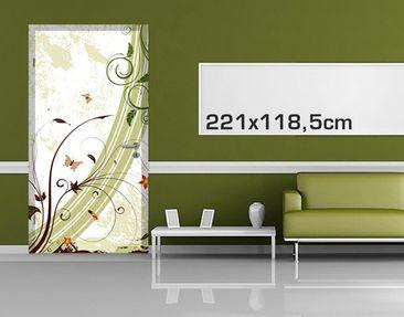 Product picture Door Photo Wall Mural Springtide