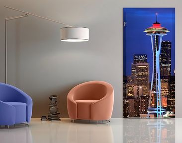 Product picture Door Wall Mural Seattle