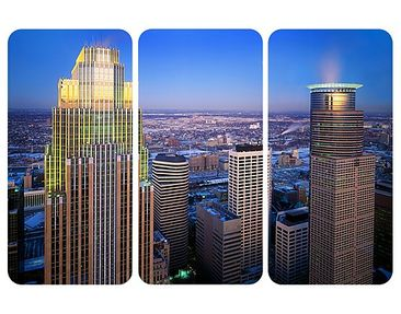 Product picture Wall Mural Minneapolis Triptych I