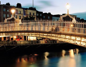 Product picture Wall Mural Ha'penny Bridge Triptych II