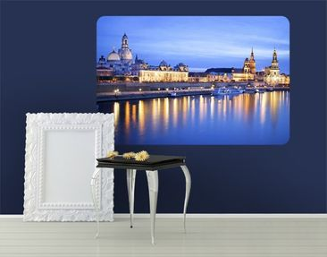 Produktfoto Wall Mural Canaletto's View At Night