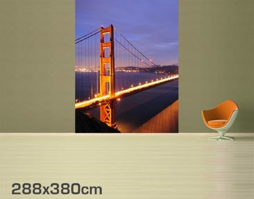 Product picture Photo Wall Mural Golden Gate Bridge At...