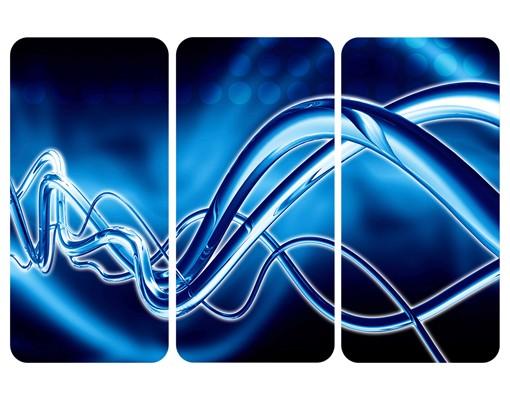 Produktfoto Selbstklebendes Wandbild Equalizer Triptychon I