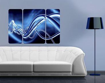 Produktfoto Wall Mural Equalizer Triptych II