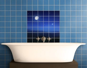 Produktfoto Tile Mural A Full Moon Wish